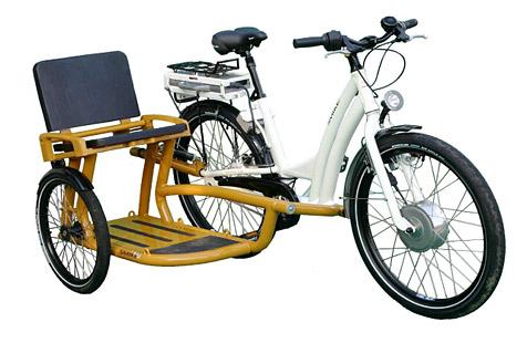 vélo side car électrique
